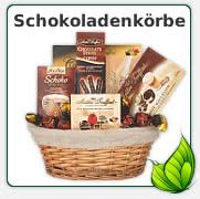 Geschenkkorb Schokolade